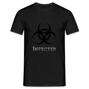 Infected - Men's T-Shirt