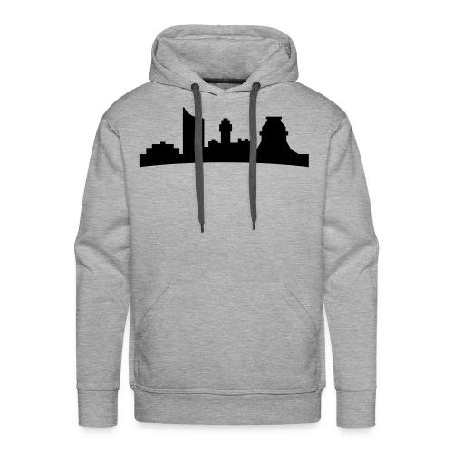 Skyline Leipzig Hoody - Männer Premium Hoodie