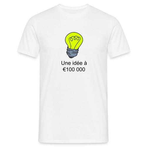 Idee à € 100 000 - T-shirt Homme