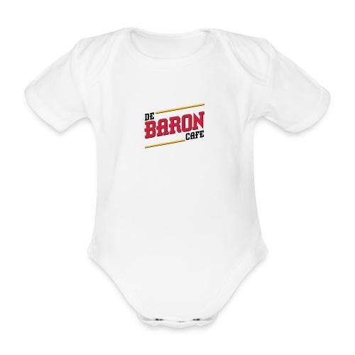 ! - Baby bio-rompertje met korte mouwen