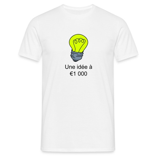 Idee à € 1000 - T-shirt Homme