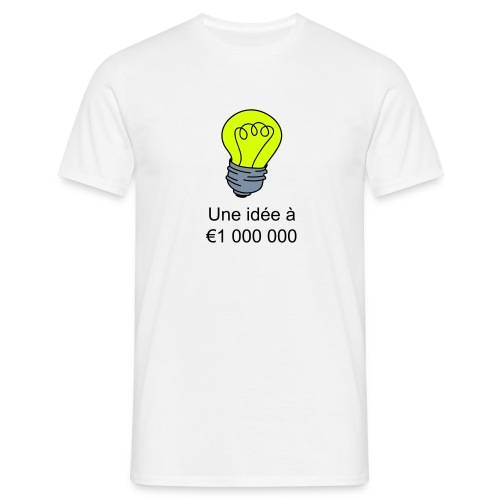 Idee à € 1 000 000 - T-shirt Homme