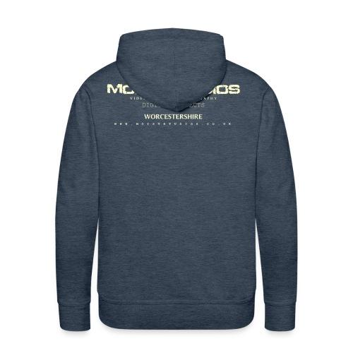 Moist Details Brown Hoody - Men's Premium Hoodie