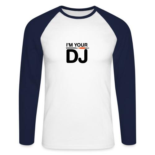 DJ - Männer Baseballshirt langarm