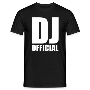 DJ Official - White - Men's T-Shirt