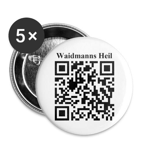 Waidmann Heil Butt - Buttons groß 56 mm (5er Pack)