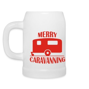 Beer Mug - Merry Caravanning - Beer Mug