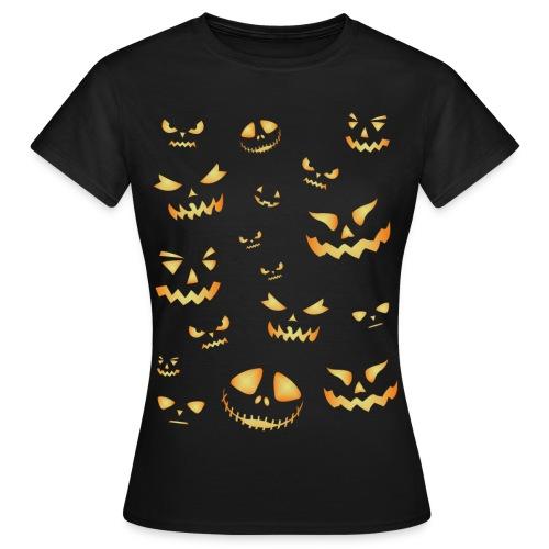 Halloween pumpkins - Women's T-Shirt