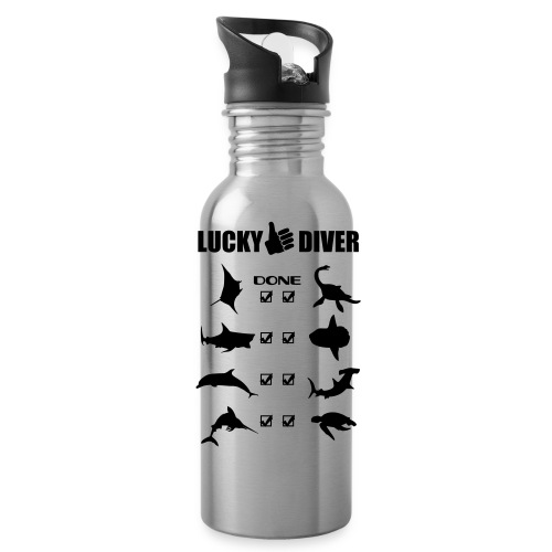 Lucky Diver-Gourde+logo - Gourde