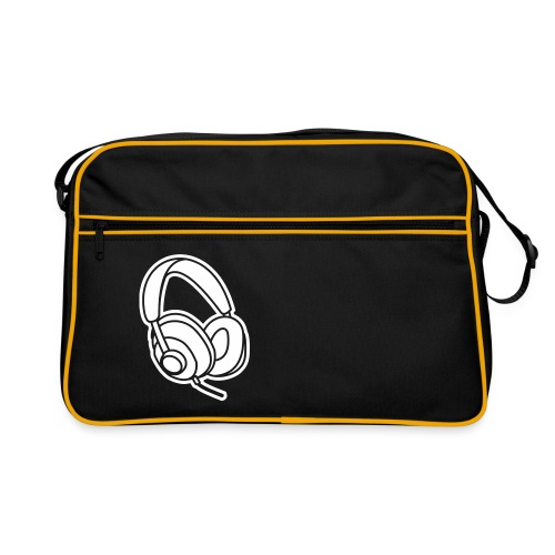 Kopfhörer Headphones Beats Musik Music - Retro Tasche