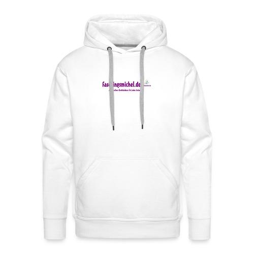 Faschingsmichel Line - Kapuzenpulli Men - Männer Premium Hoodie