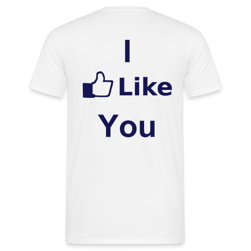 I like you - Herre-T-shirt