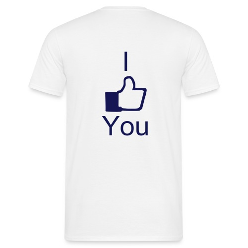 I like you #2 - Herre-T-shirt
