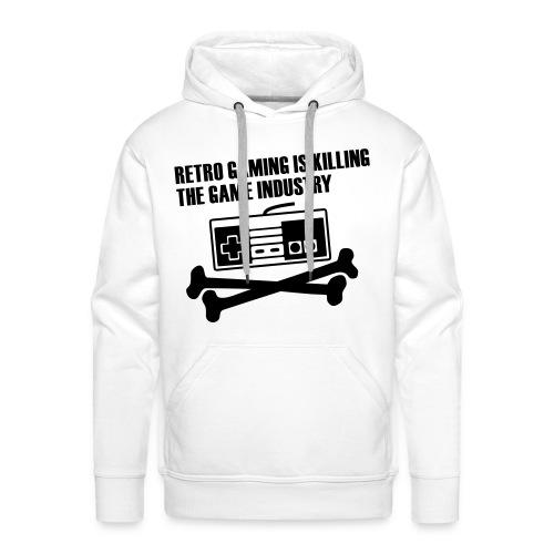 Retro 6 - Sweat-shirt à capuche Premium pour hommes