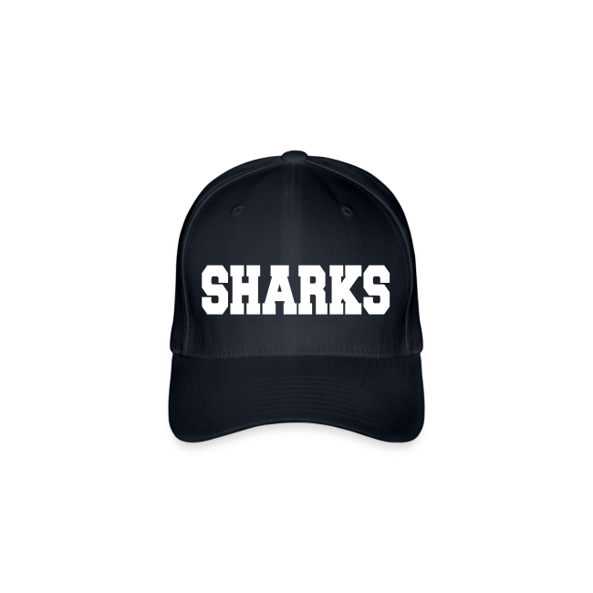 Flexfit Cap Sharks (navy/weiß)