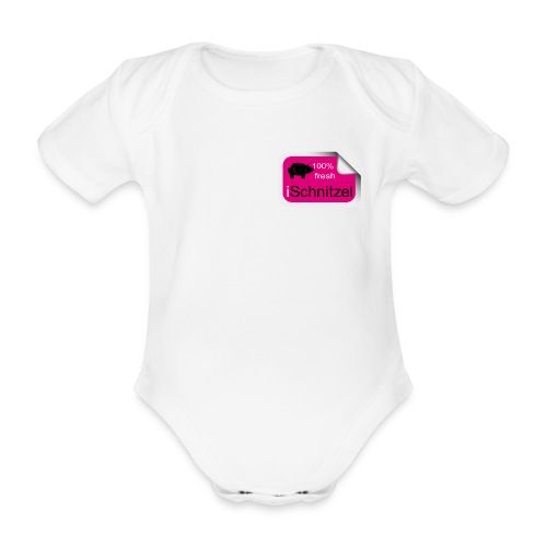 iSchnitzel for Babys - Baby Bio-Kurzarm-Body