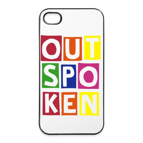 Outspoken Proud iPhone 4/4s Case. - iPhone 4/4s Hard Case