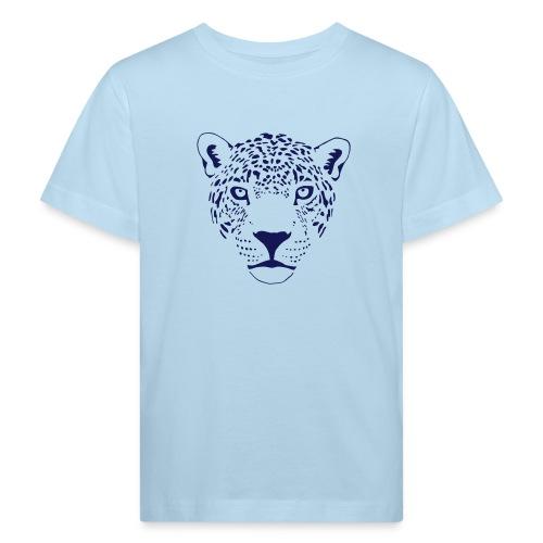 tier t-shirt jaguar puma katze gepard leopard tiger löwe raubkatze luchs wild panther - Kinder Bio-T-Shirt