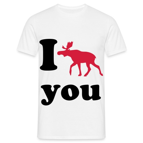 I moose you - Mannen T-shirt