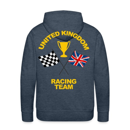 United Kingdom racing team - Men's Premium Hoodie
