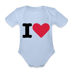 I LOVE YOU - Body bébé bio manches courtes