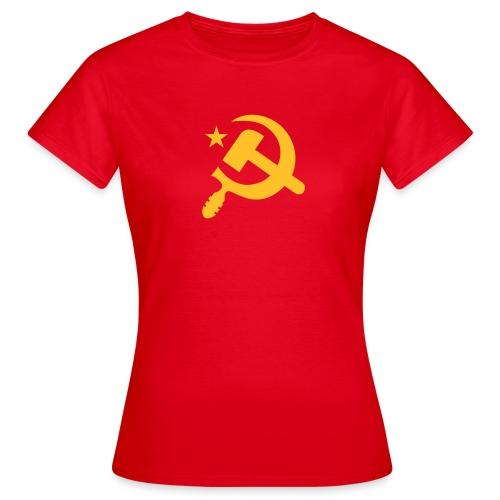 Classic Hammer Sickle Women's Tee Shirt - Women's T-Shirt