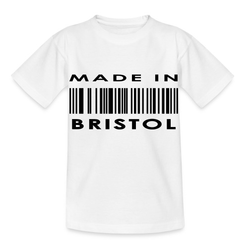 Made in Bristol barcode kid's tee - Kids' T-Shirt