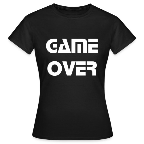 game over F - T-shirt Femme