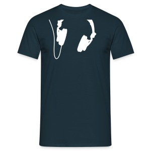 Headphones - White - Classic T-Shirt by B&C (Men) - Männer T-Shirt