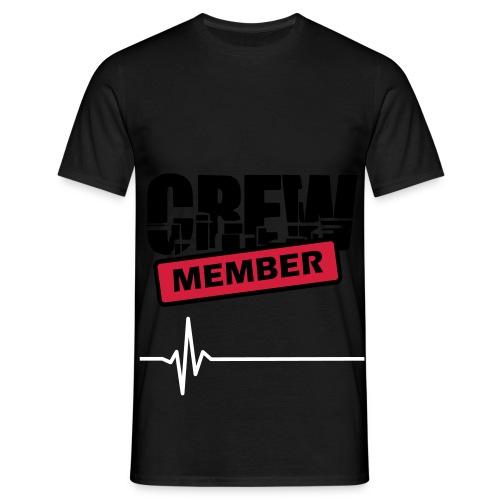Crew member black - T-shirt Homme