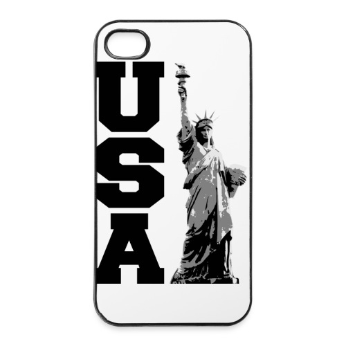 Coque USA - Coque rigide iPhone 4/4s