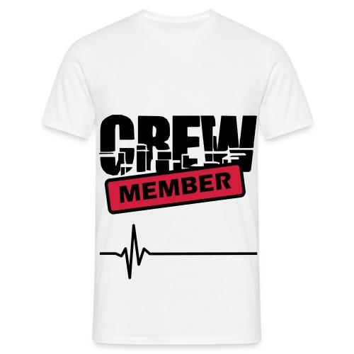 Crew member white - T-shirt Homme