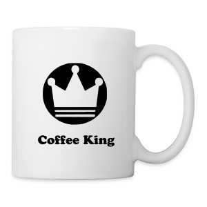 Coffee King Tasse mit Krone - Tasse