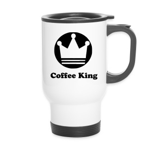 Coffee King Becher mit Krone - Thermobecher