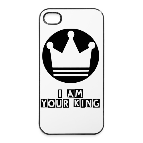 iPhone-Hülle mit Krone, I am your king - iPhone 4/4s Hard Case