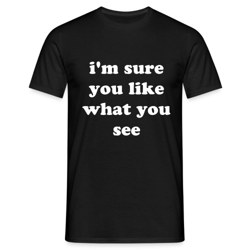 i'm sure ... - T-shirt Homme