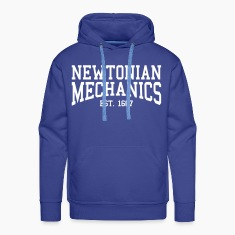 Newtonian Mechanics - Est. 1687 (Over-Under) Hoodies & Sweatshirts