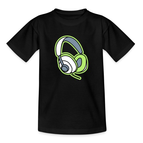 Kopfhörer Headphones Beats Musik Music - Kinder T-Shirt