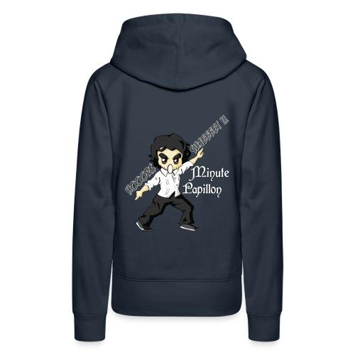Mini-Kriss - Prof de philo - Sweat Capuche femme - Sweat-shirt à capuche Premium pour femmes