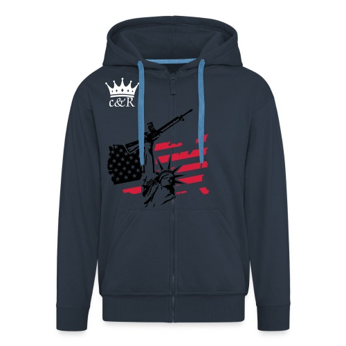 Libertybreaker c&R hoodie - Men's Premium Hooded Jacket