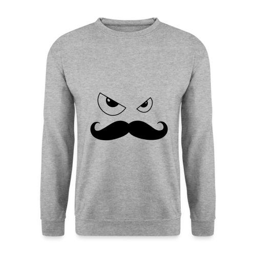 Sweat shirt moustache - Sweat-shirt Homme