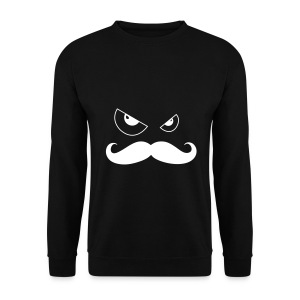 Sweat shirt moustache - Sweat-shirt Homme