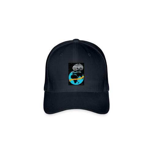 pet met kraaghagedis - Flexfit baseballcap