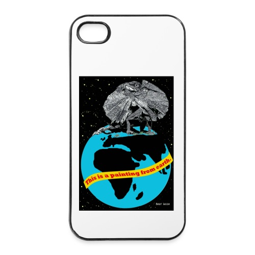 i phonecase met kraaghagedis - iPhone 4/4s hard case