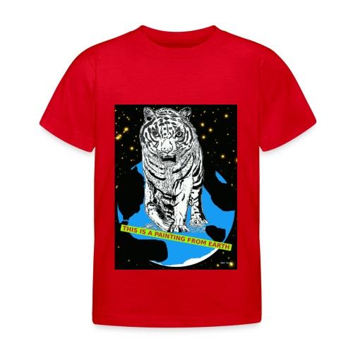 kinder t-shirt tijger - Kinderen T-shirt