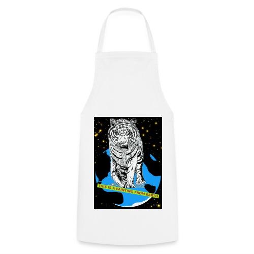 tijger keukenschort met power - Keukenschort