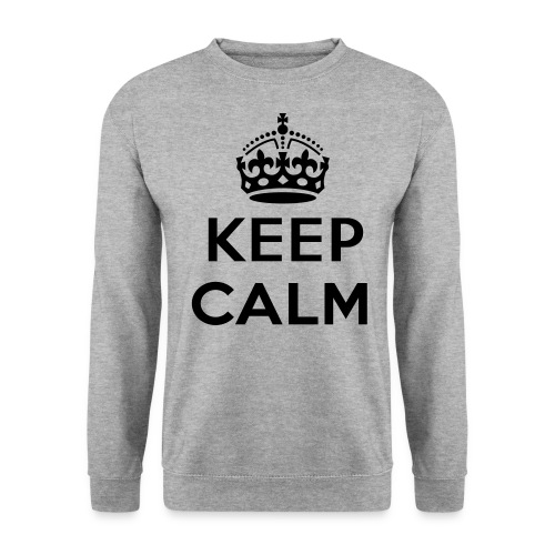 KeepCalm - Mannen sweater