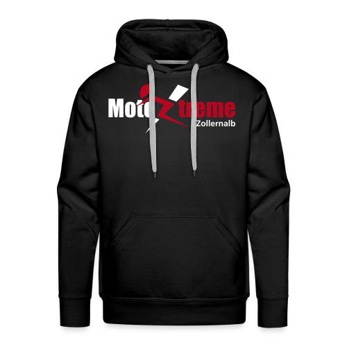 Männer Premium Kapuzenpullover Logo vorne - Männer Premium Hoodie