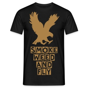 Smoke Weed And FLY - Men's T-Shirt
