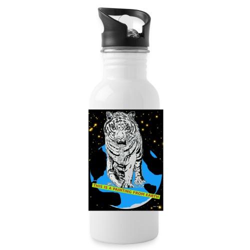 drinkfles met tijger - Drinkfles